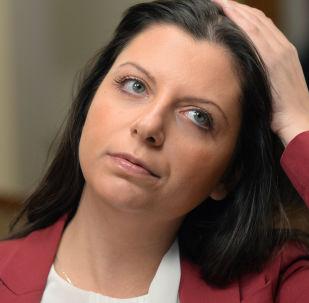 「今日俄羅斯」國際通訊社和RT電視台主編西蒙尼揚