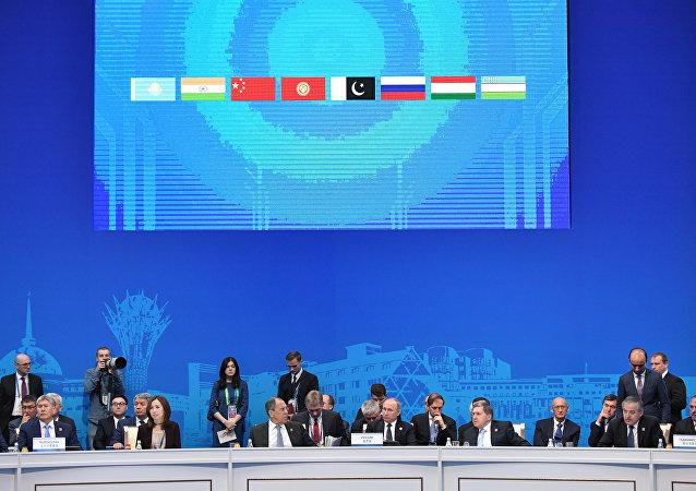 印度和巴基斯坦2017年6月正式加入上合组织