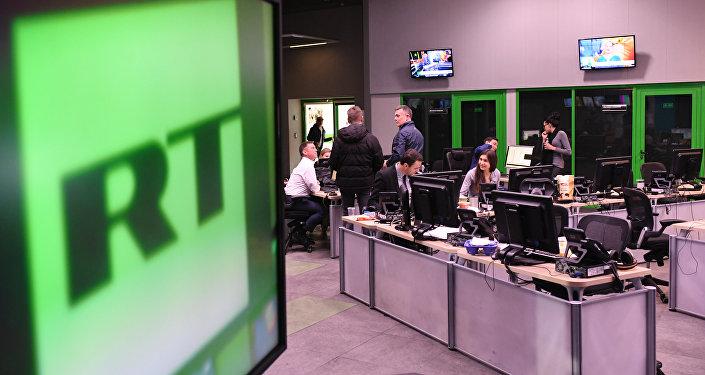 RT電視台莫斯科辦公室
