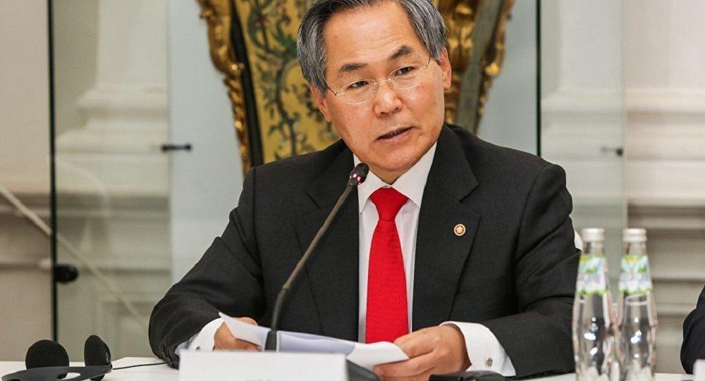 韩国驻俄大使禹润根