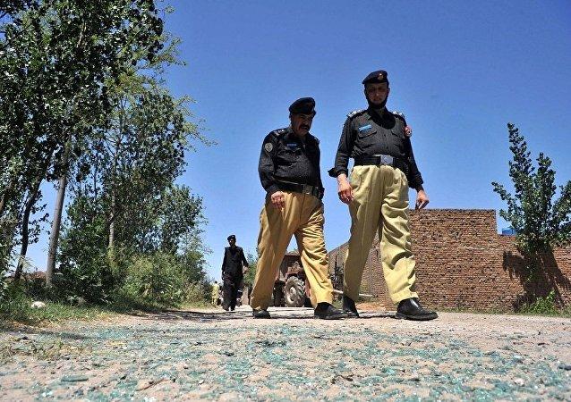 巴基斯坦警方