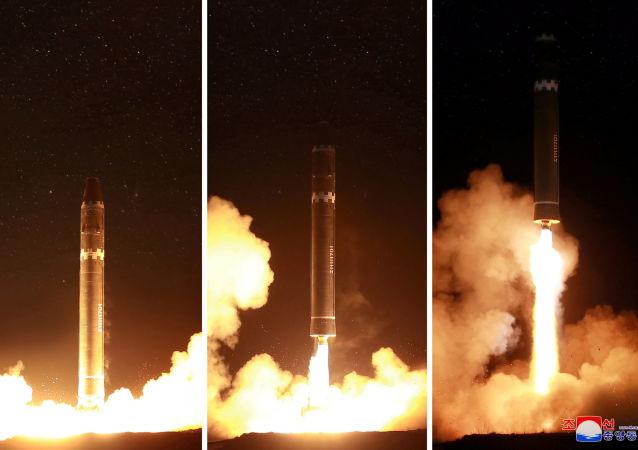 美防长:美仍在研究朝鲜最近一次导弹试验