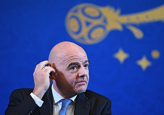 国际足联主席:2018年俄罗斯世界杯会是最棒的一届
