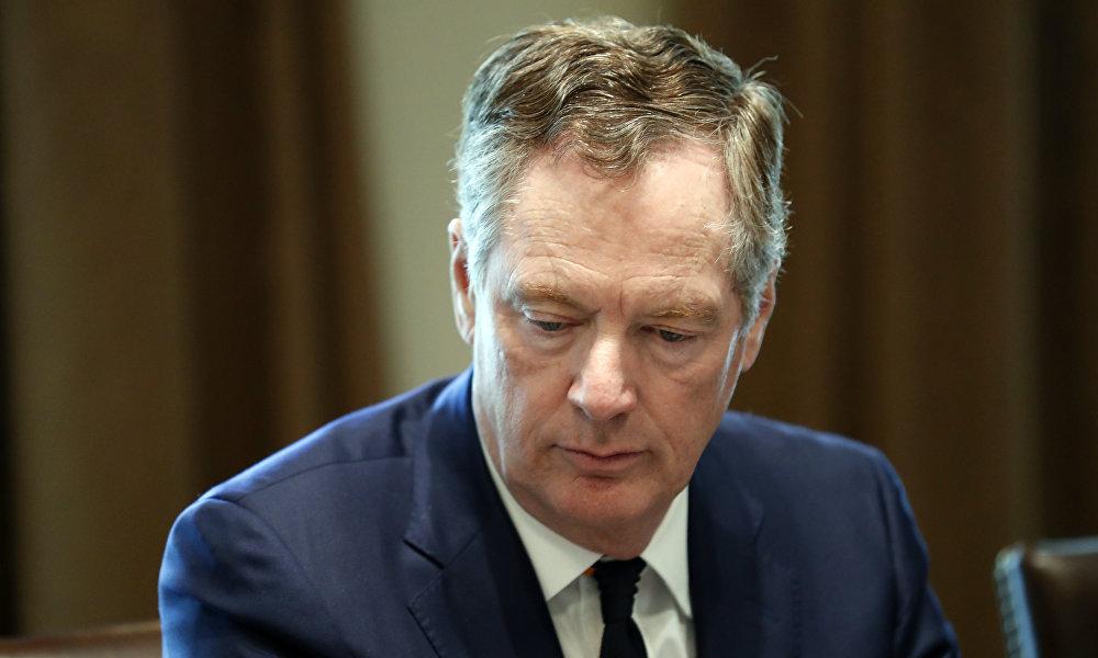 美国贸易谈判代表罗伯特·莱特希泽