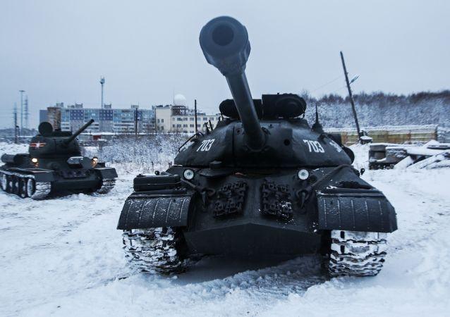 俄羅斯T-34坦克