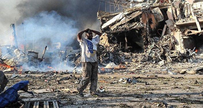 索马里历史上最为血腥的恐袭共造成512人死亡