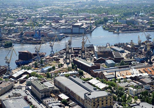 圣彼得堡港口