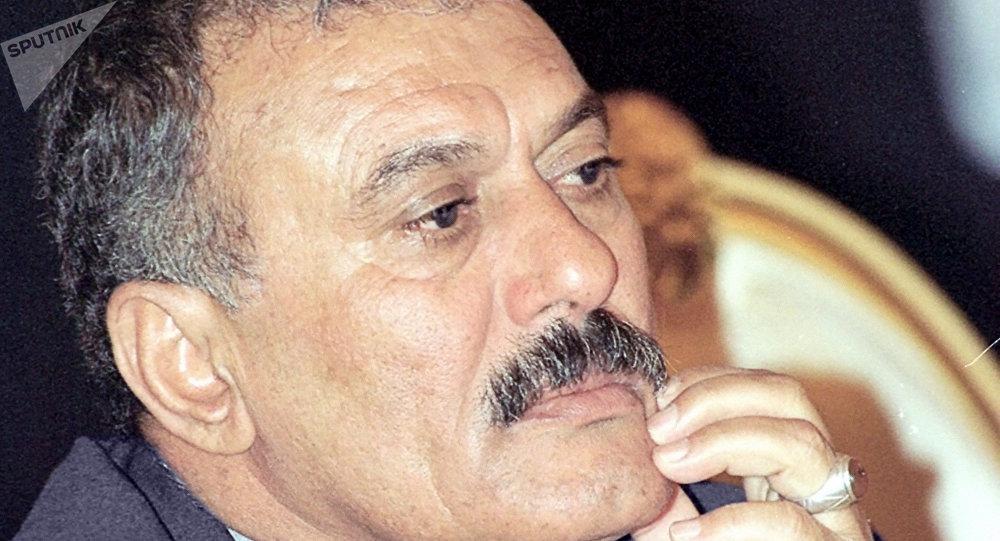 媒体:也门胡塞武装炸毁前总统萨利赫住所 萨利赫或被杀