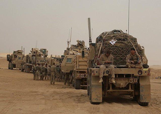 美联军在伊拉克