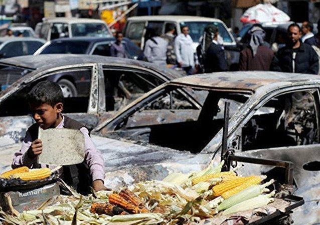 沙特在也门的空袭6天内造成140多名平民死亡