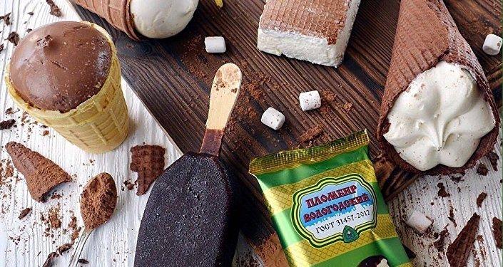 俄羅斯ICEBERRY品牌的冰淇淋