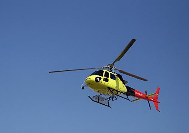 伊尔库茨克州失联的直升机被搜索小组找到