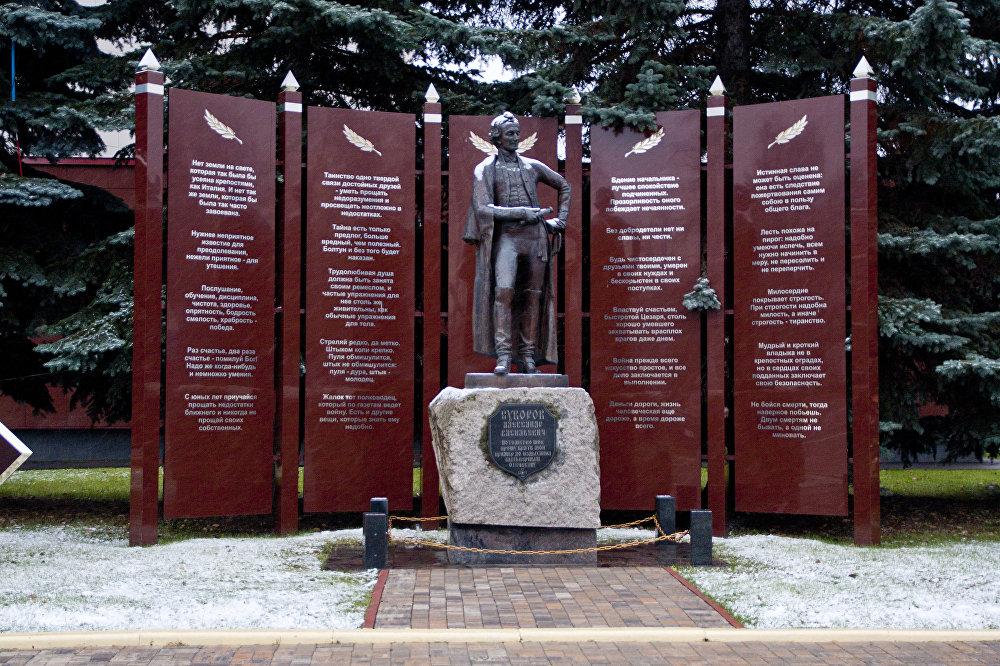 亞歷山大·蘇沃洛夫統帥雕像