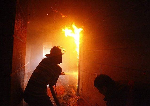 俄紧急情况部:莫斯科近郊工厂火灾面积增至6万平方米