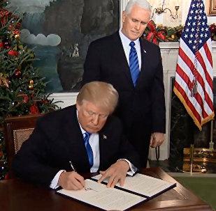 美國承認耶路撒冷為以色列首都