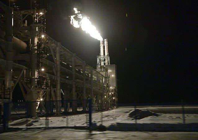 亚马尔液化气公司的工厂
