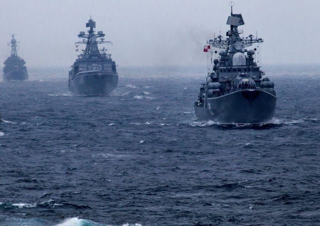隶属俄太平洋舰队的一支船队进入缅甸