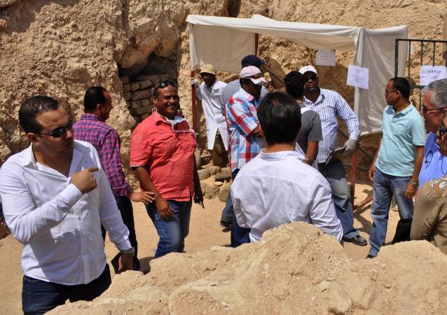 在埃及发现了两座大约3500年前的古墓