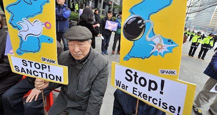 朝鲜半岛问题和解支持者