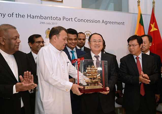 中國在漢班托塔港落了腳