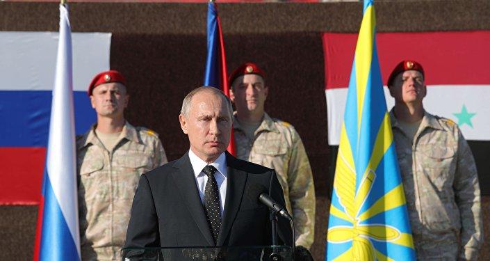 俄軍駐敘部隊