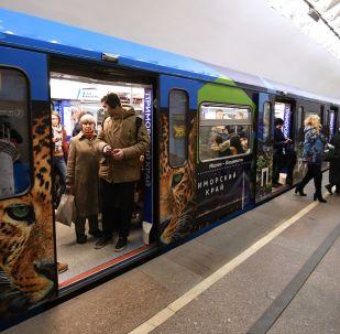 莫斯科地铁换