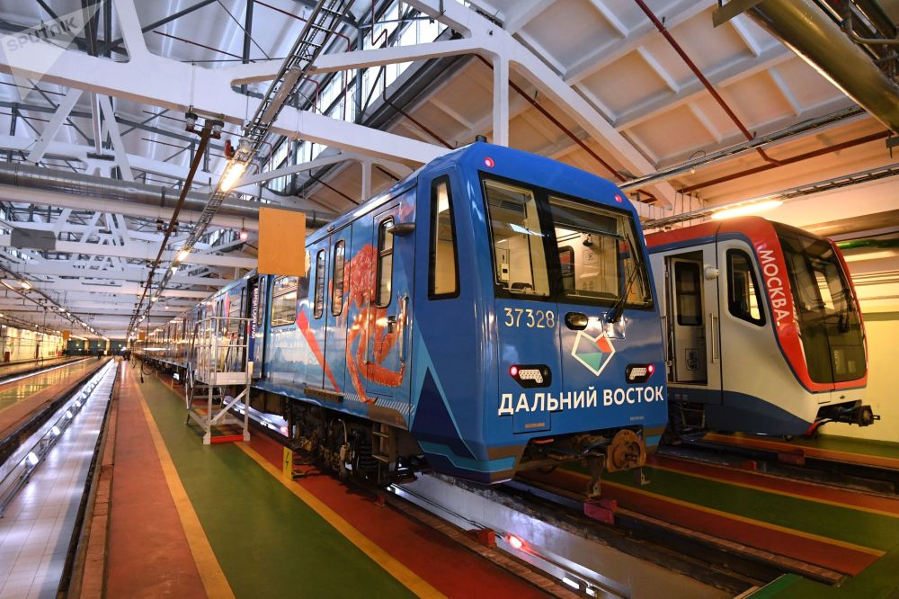「遠東特快」主題地鐵列車啓用