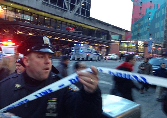 媒体:在纽约的爆炸造成数人受伤