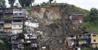 哥倫比亞馬尼薩萊斯市泥石流