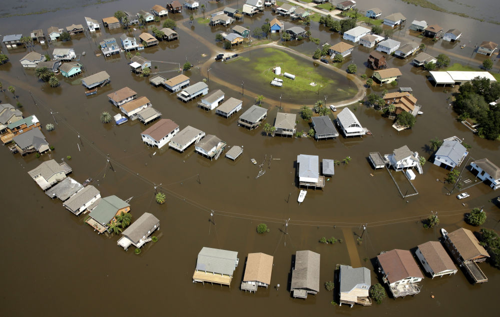 """飓风""""哈维""""过境,美国得克萨斯州"""