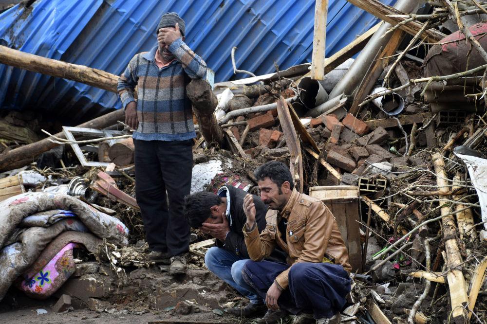 伊朗洪水过后