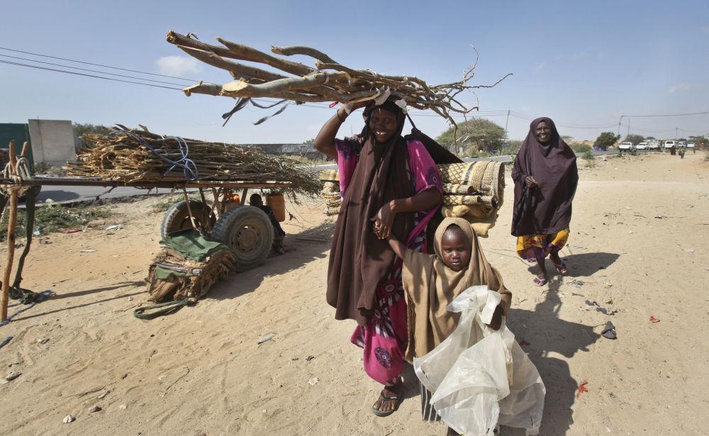 索馬里旱災