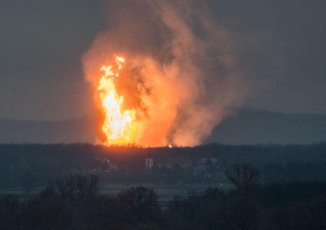 奥地利天然气枢纽站火灾已被扑灭