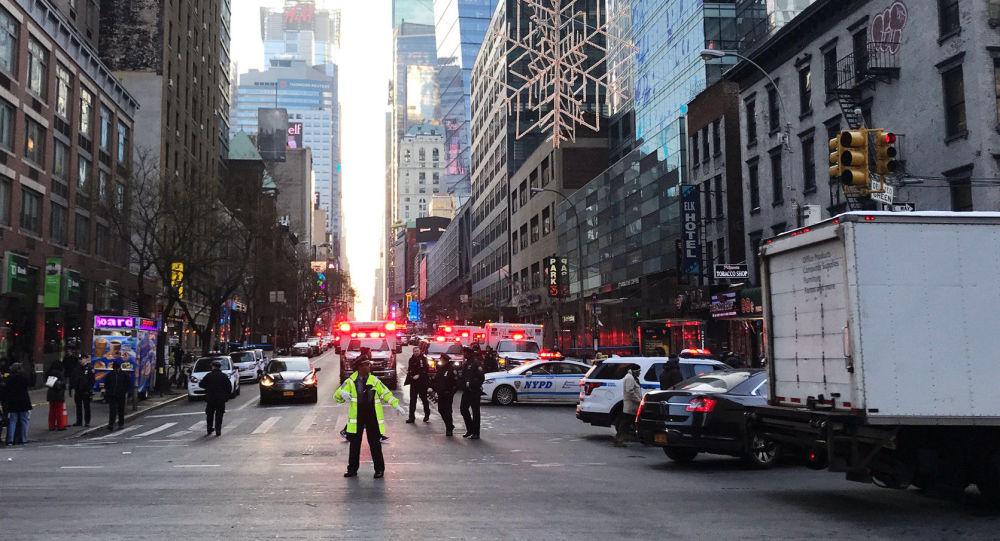 """媒体:纽约恐袭嫌疑人受去年柏林恐袭""""激励""""发起袭击"""