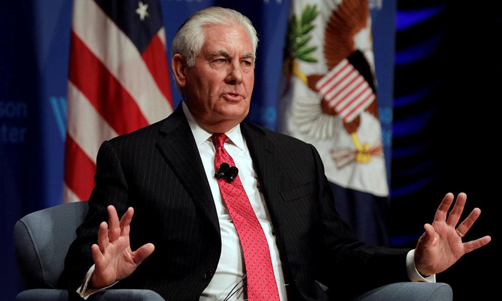 12月12日帝勒森在华盛顿大西洋理事会会议上推测,中国提出一带一路是企图避开国际规则打造符合自身利益的国际经济秩序。