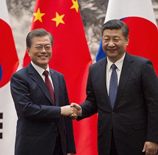 中國與韓國開始重啓兩國關係
