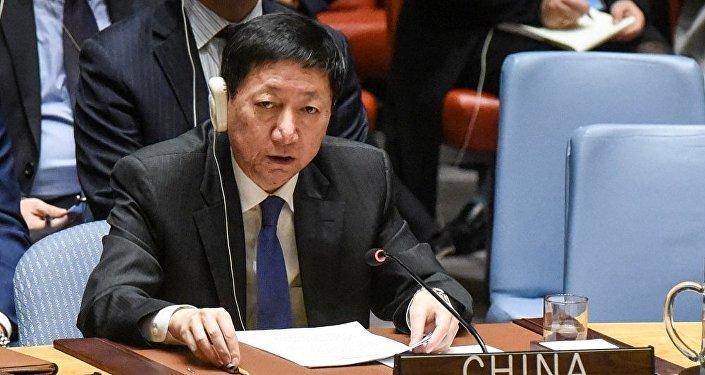 中国常驻联合国副代表吴海涛