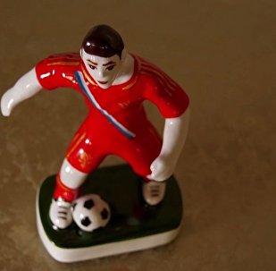 2018年足球世界杯球员瓷像(视频)