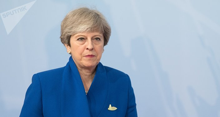 英国首相特蕾莎∙梅