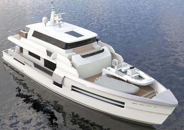 30米長的「超級快艇」