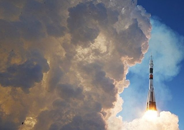 """搭载新考察组的""""联盟MS-07""""飞船将与国际空间站对接"""