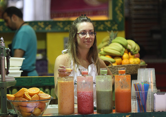 蔬菜汁和水果汁