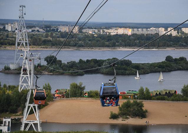 世界第一条国际跨境索道在中俄双子城间开工建设