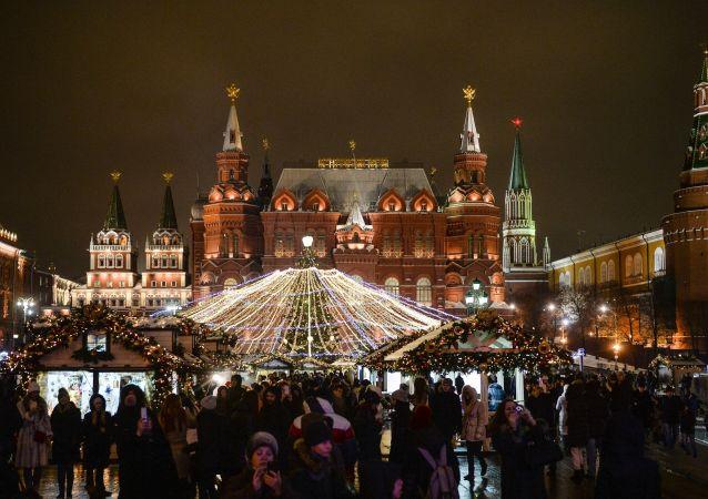 莫斯科圣诞集市