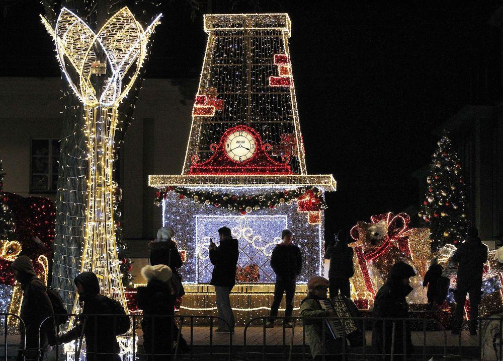波蘭聖誕彩燈
