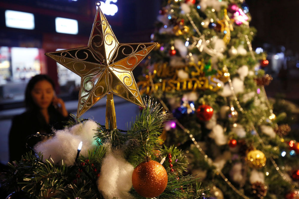 越南的圣诞装饰