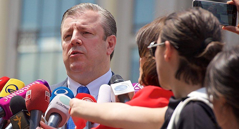 格鲁吉亚总理格里高里•克维里卡什维利