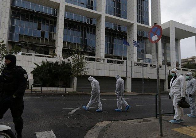 媒體:雅典上訴法院入口旁發生爆炸 無人受傷
