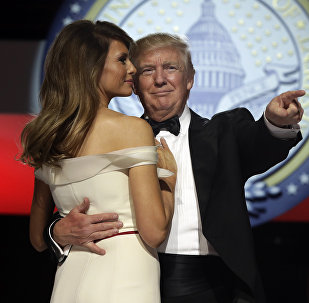 1月20日 特朗普就職儀式