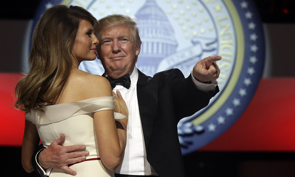 1月20日 特朗普就职仪式